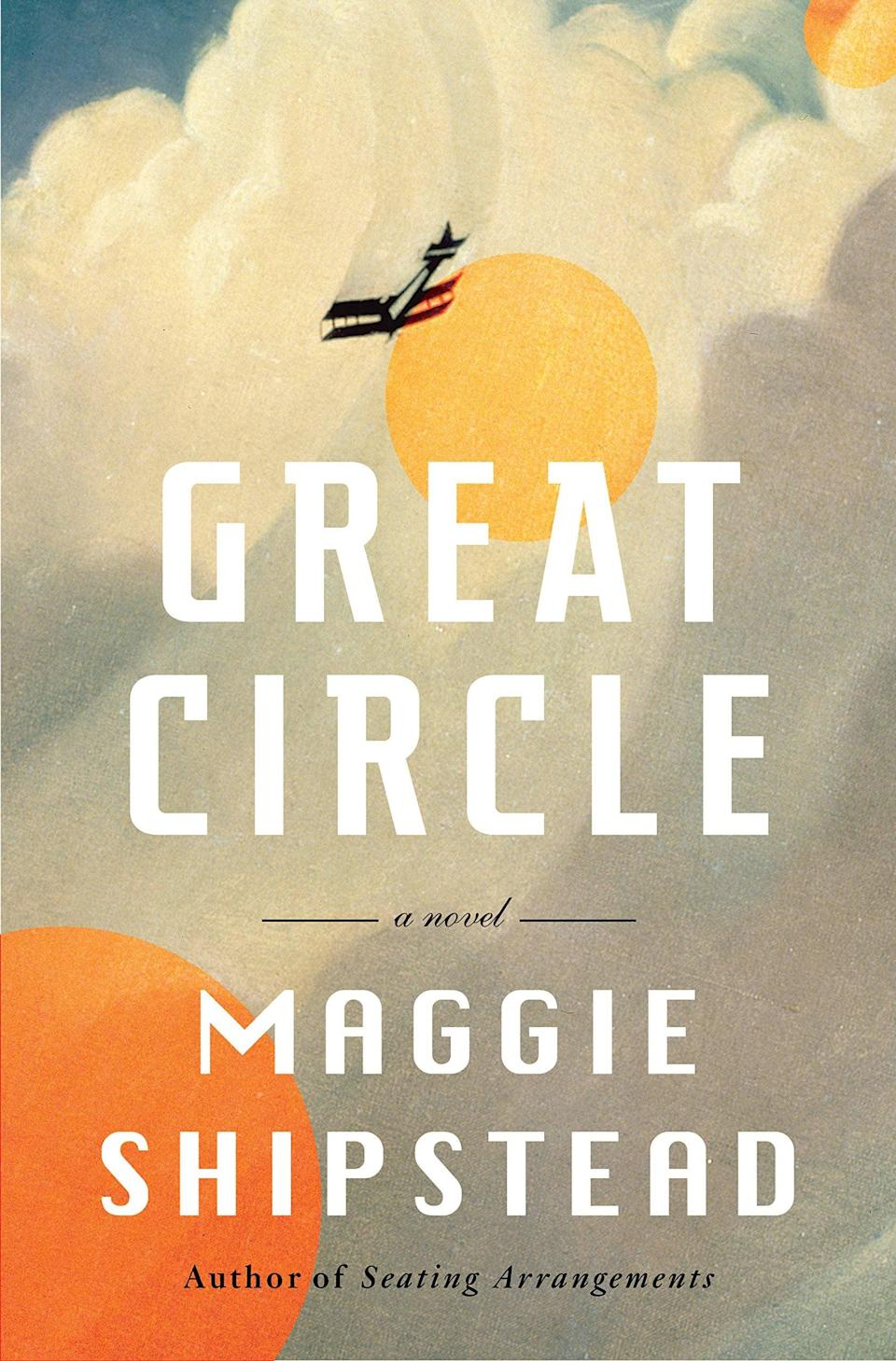 <p><span><strong>Great Circle</strong></span> by Maggie Shipstead is a decades-spanning tale of a trailblazing woman pilot and the modern-day actress who is preparing to play her in a Hollywood blockbuster. Marian devotes her entire life to becoming the best possible pilot she can be, but her attempt to circumnavigate the North and South Poles ends in tragedy. A century later, Hadley Baxter immerses herself in Marian's story in preparation for the role of a lifetime only to discover she has more in common with Marian than she could have ever imagined. </p> <p><em>Out May 4</em></p>