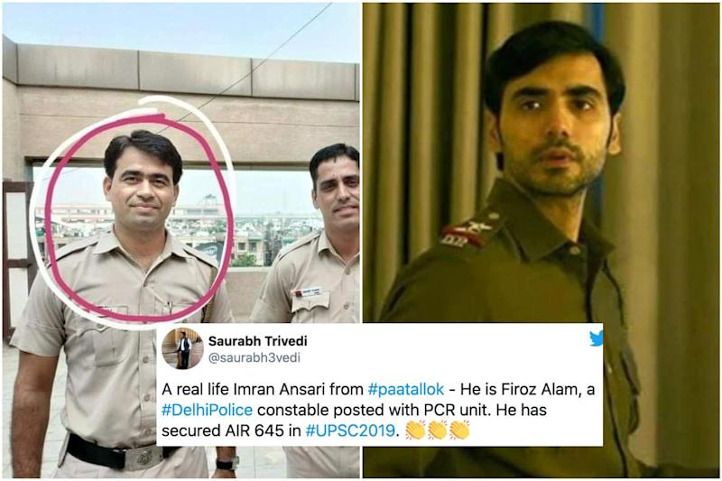 Delhi Constable Who Cracked UPSC 2019 Exam is Reminding Internet of Imran Ansari from 'Paatal Lok'