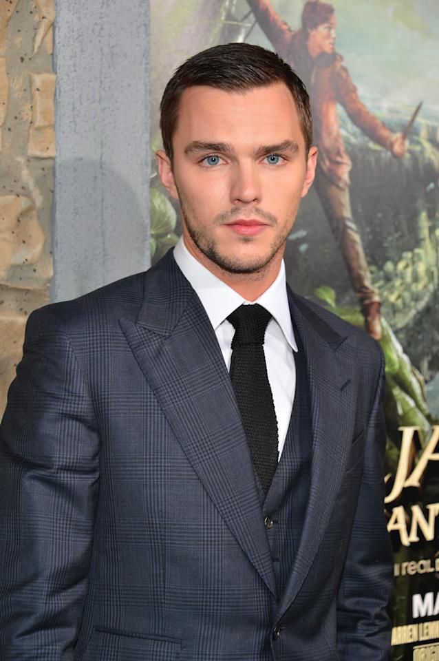 "HOLLYWOOD, CA - FEBRUARY 26:  Actor Nicholas Hoult attend the premiere of New Line Cinema's ""Jack The Giant Slayer"" at TCL Chinese Theatre on February 26, 2013 in Hollywood, California.  (Photo by Alberto E. Rodriguez/Getty Images)"