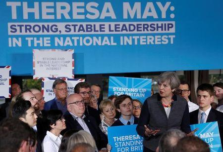 Local elections bring cheer for Theresa May