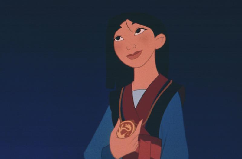 Mulan is depicted in the original Disney film (Photo: Moviestore Collection/REX/Shutterstock)