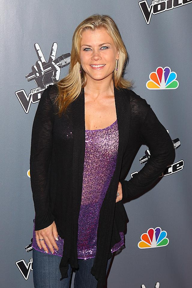 "Alison Sweeney (""The Biggest Loser"") turns 35. Joe Scarnici/<a href=""http://www.wireimage.com"" target=""new"">WireImage.com</a> - June 29, 2011"