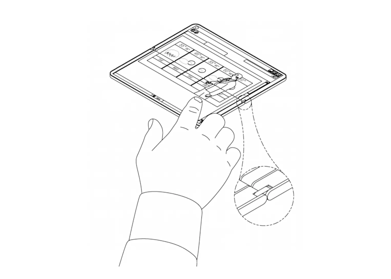 Ultramobile Surface Patent [1]