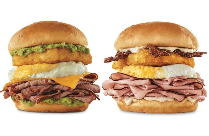 Arby's new sandwich has all the brunch essentials stacked sky-high
