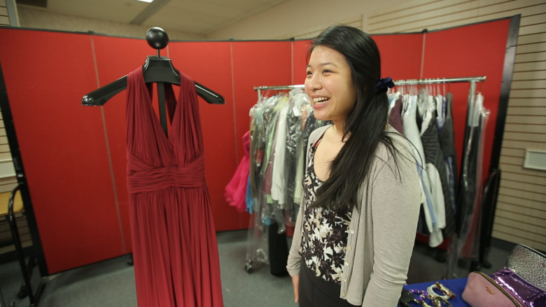 'An experience no high-schooler should miss': Toronto charity outfits teens for prom