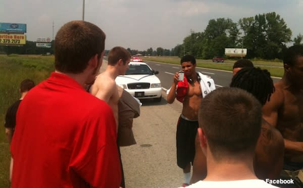 Indiana All Star team is stranded by bus failure