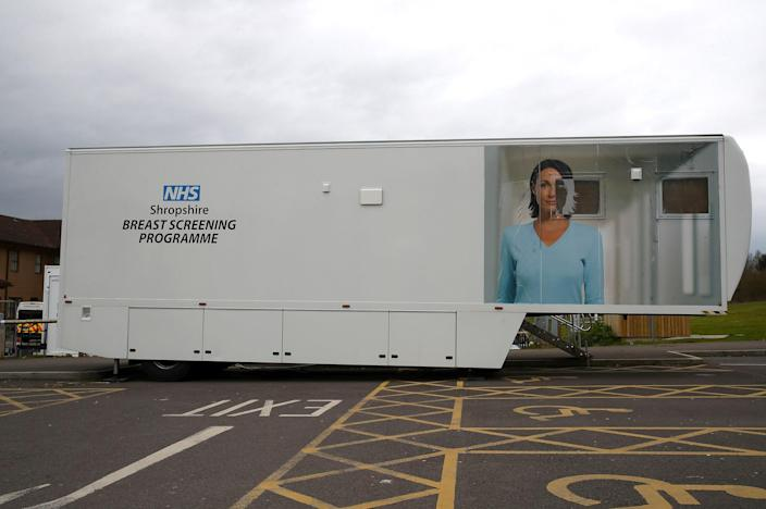 Image: Breast screening unit at Telford Hospital (Nick Potts / PA Images via Getty Images file)
