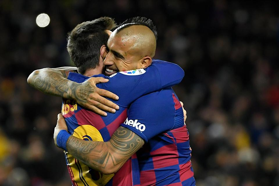 Arturo Vidal says Barcelona team-mate Lionel Messi is