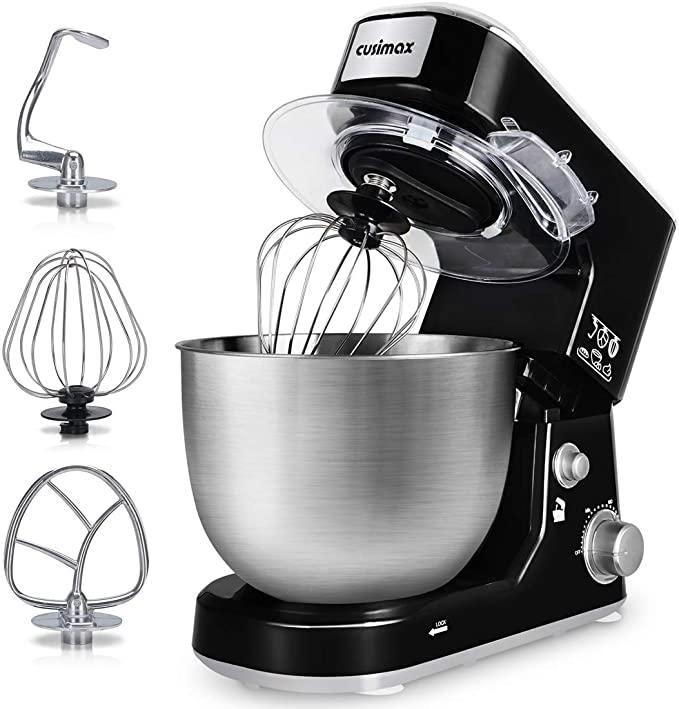 Save $80 on the Cusimax 5-Quart Stand Mixer. Image via Amazon.
