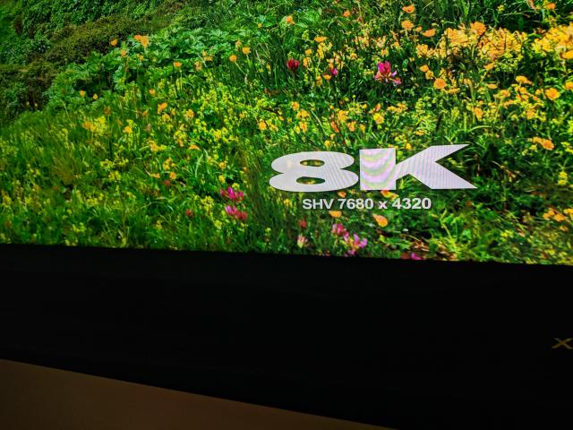 8K TVs offer far more resolution than 4K, but aren't worth it yet.