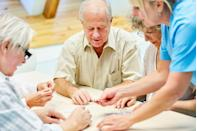 """<p>It's not uncommon for older people to feel like they have nothing left to look forward to or they don't have any goals anymore. But <a href=""""https://www.beingpatient.com/alzheimers-prevention/"""" rel=""""nofollow noopener"""" target=""""_blank"""" data-ylk=""""slk:having a sense of purpose"""" class=""""link rapid-noclick-resp"""">having a sense of purpose</a> in your life is actually very important. Many studies have shown that seniors who have a sense of purpose are less likely to develop Alzheimer's. Researchers believe this may be because that feeling can make seniors more physically active, less stressed, and more likely to take care of their health. </p>"""