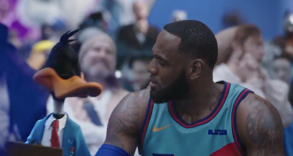 LeBron James starring in Space Jam 2 (Warner Bros Pictures/ YouTube)