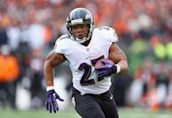 Former Baltimore Ravens running back Ray Rice, who was suspended indefinitely earlier this year for domestic violence, won his appeal, meaning he could return to the National Football League (AFP Photo/Andy Lyons)