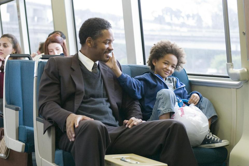 The Pursuit of Happyness. Image via Columbia Pictures