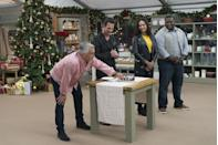 """<p>Not only did he appear on <em>The Great American Baking Show </em>in 2017, but he remained with the original show after it switched networks in 2016. """"It's been a huge part of my life in the past few years, and I just couldn't turn my back on all that,"""" he said at the time. The same day, Mary Berry and hosts Mel Giedroyc and Sue Perkins <a href=""""https://www.bbc.com/news/entertainment-arts-37437907"""" rel=""""nofollow noopener"""" target=""""_blank"""" data-ylk=""""slk:announced"""" class=""""link rapid-noclick-resp"""">announced</a> they wouldn't do the same. Seasons eight through 10 featured him and <span class=""""redactor-unlink"""">Prue Leith</span> as judges. </p>"""