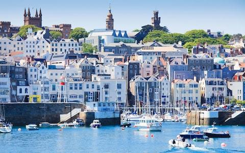 St Peter Port, Guernsey - Credit: Getty