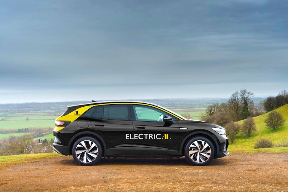 Addison Lee aims to have an electric-only fleet by 2023 (Volkswagen )
