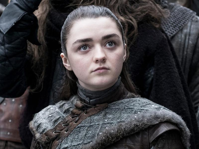 Arya from Game of Thrones