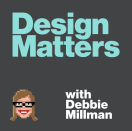 """<p>Feel free to binge this one.<em> Design Matters with Debbie Millman</em> is the OG design podcast—no really, Millman started her podcast in 2005 and has recorded over 200 episodes. As one of the most celebrated podcasts in the industry, this one is a must-listen.</p><p><a class=""""link rapid-noclick-resp"""" href=""""https://podcasts.apple.com/us/podcast/design-matters-with-debbie-millman/id328074695"""" rel=""""nofollow noopener"""" target=""""_blank"""" data-ylk=""""slk:Listen now."""">Listen now.</a></p>"""