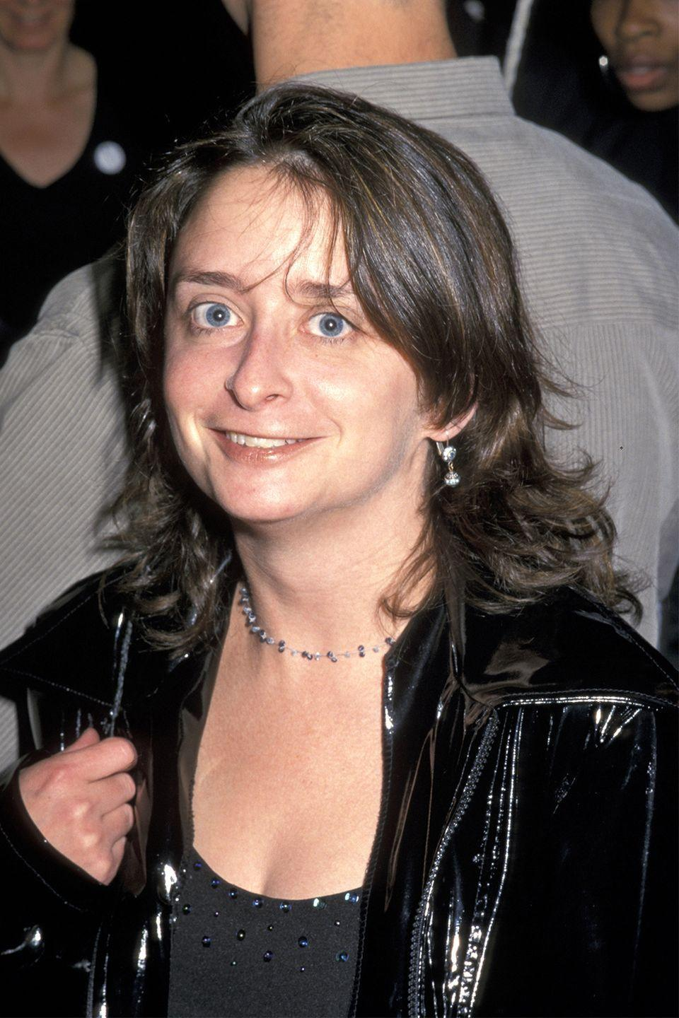 <p>As a choker- and leather jacket-wearing badass in 2000.</p>