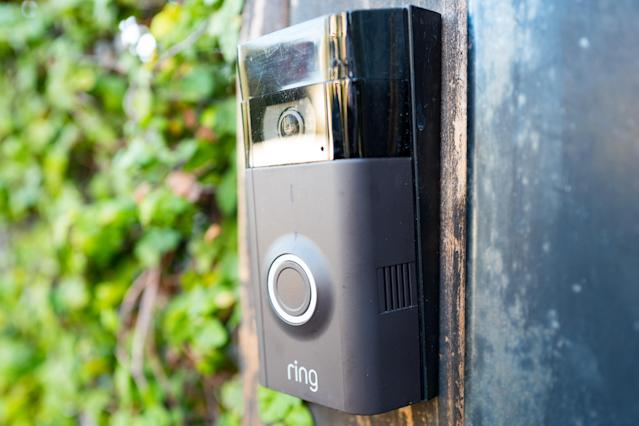Devices such as Ring doorbells are among those Mischcon de Reya has warned against using while working. (Smith Collection/Gado/Getty Images)
