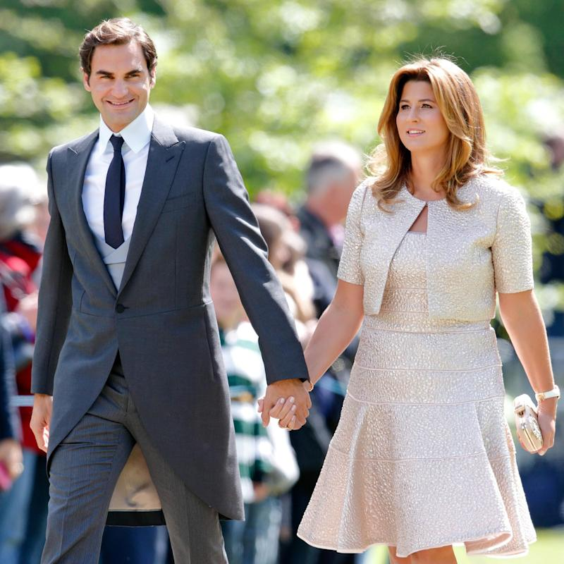 Roger Federer Mirka - Max Mumby/Getty Images