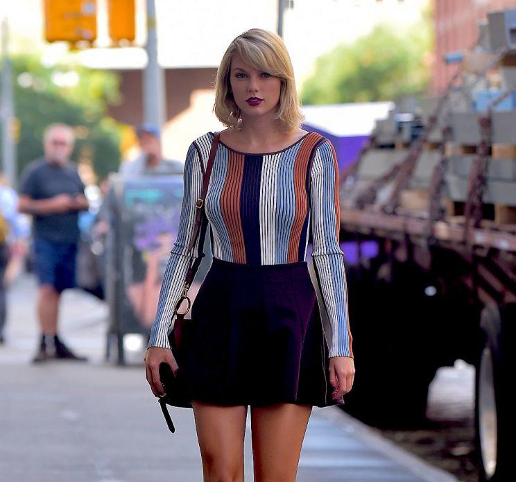 Taylor Swift out in NYC. (Photo: Getty Images)