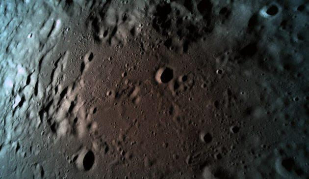 Team SpaceIL says this was the last picture taken by the Beresheet lunar lander, at a distance of 15 kilometers (9 miles) from the lunar surface. (SpaceIL Photo)
