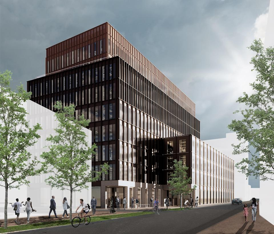 Landsec is working on a office development called The ForgeLandsec