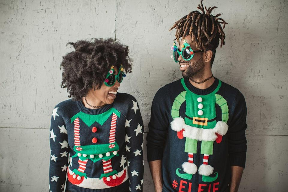 "<p>Sure, you can buy a Christmas sweater, but it's much more meaningful if you make your own. Up your game this holiday season by checking out a knitting kit from a brand like <a href=""https://www.weareknitters.com/"" rel=""nofollow noopener"" target=""_blank"" data-ylk=""slk:We Are Knitters"" class=""link rapid-noclick-resp"">We Are Knitters</a>. Whether you want to knit a sweater for all seasons or one for the ugly Christmas tradition, these knitting kits will provide you with the yarn, needles, and the technical instructions you need to up your game and create a giftable finished product.</p>"