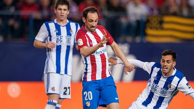 Atletico Madrid have improved since a dip at the end of last year, and Juanfran thinks they can upset Real Madrid's title charge.