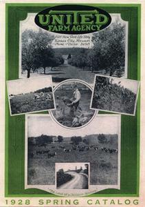 The first national real estate catalog, published by United Country Real Estate (then United Farm Agency), was created in 1928. It is currently in the Smithsonian.