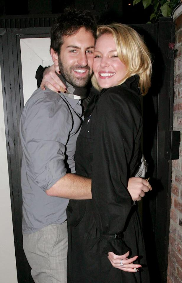 "The ""Grey's Anatomy"" star and her musician hubby are clearly still very much in love. <a href=""http://www.infdaily.com"" target=""new"">INFDaily.com</a> - December 23, 2008"