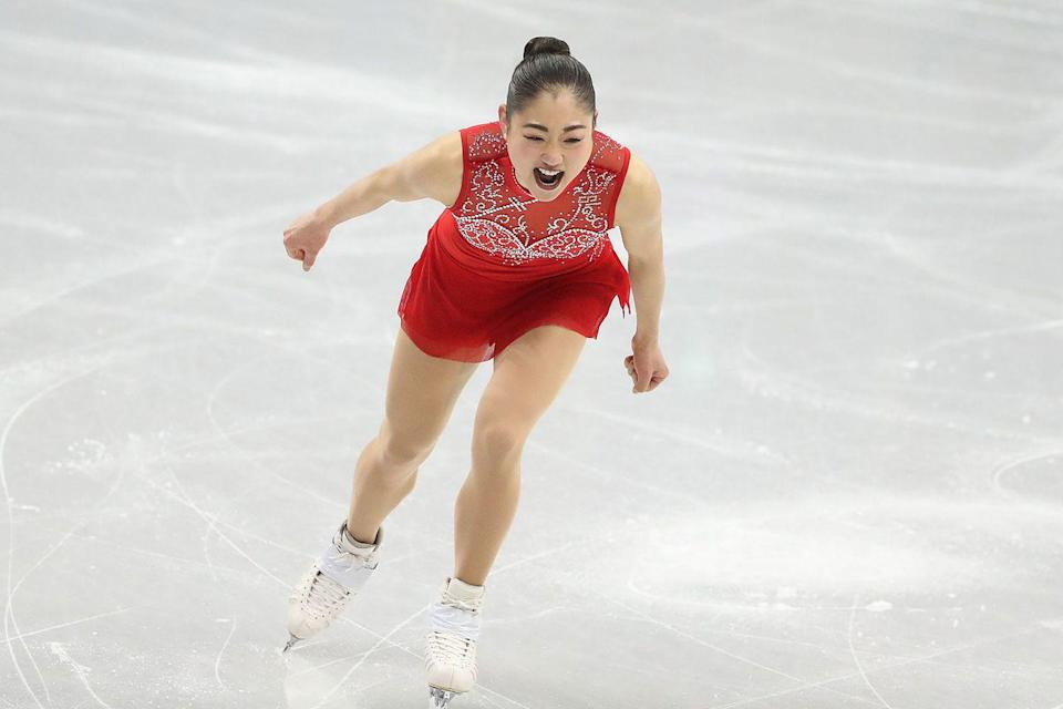 """<p>Another uplifting story from the <a href=""""https://www.goodhousekeeping.com/olympic-games-news/"""" rel=""""nofollow noopener"""" target=""""_blank"""" data-ylk=""""slk:PyeongChang games"""" class=""""link rapid-noclick-resp"""">PyeongChang games</a>. Mirai Nagasu made history as the first American female figure skater to successfully execute a triple axel during the Olympic games.</p><p><strong>RELATED:</strong> <a href=""""https://www.goodhousekeeping.com/beauty/fashion/g5099/best-figure-skating-outfits-olympics/"""" rel=""""nofollow noopener"""" target=""""_blank"""" data-ylk=""""slk:The 30 Most Gorgeous Figure Skating Outfits in Olympic History"""" class=""""link rapid-noclick-resp"""">The 30 Most Gorgeous Figure Skating Outfits in Olympic History</a></p>"""