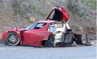 Ferrari Enzo Wrecked In Infamous 2006 Crash Sold For $1.75M