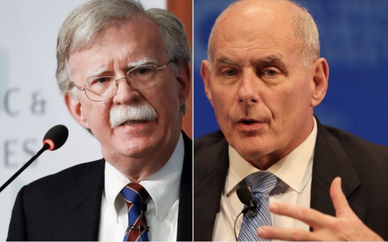 John Bolton's Praise Of 'Honorable' John Kelly Backfires Spectacularly