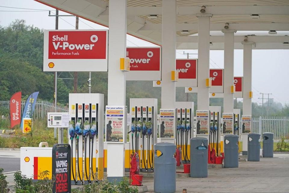 Thousands of petrol stations have run out of fuel after days of panic buying by motorists (Adam Davy/PA) (PA Wire)