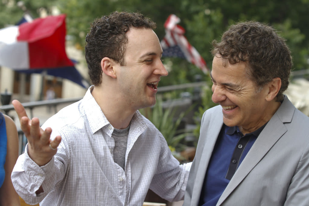 """Ben Savage and Executive Producer Michael Jacobs attend the """"Boy Meets World"""" reunion panel at ATX Television Festival on Friday, June 7, 2013 in Austin, Texas."""