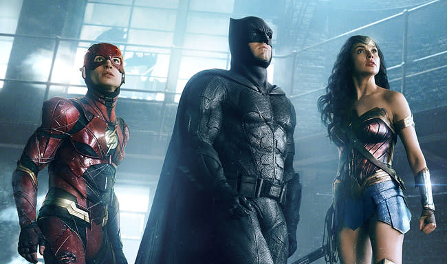 Watch the 20-Minute 'Justice League' Press Conference with Affleck, Gadot, Cavill, and More