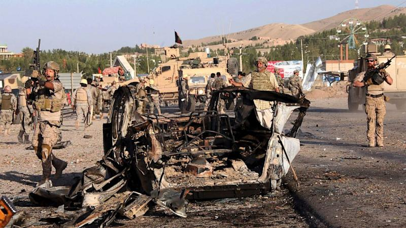US Consulate in Herat, Afghanistan, Attacked