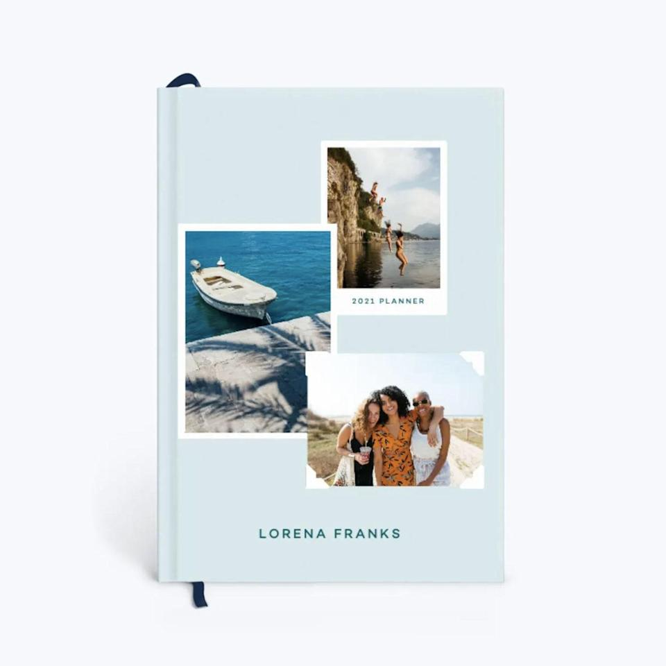 "Keep your fondest memories close with this customizable planner with super-smooth paper for your weekly, monthly, and yearly plans, plus space for goals, dates to remember, and to-dos. $29, Papier. <a href=""https://www.papier.com/us/snapshot-photo-23753"" rel=""nofollow noopener"" target=""_blank"" data-ylk=""slk:Get it now!"" class=""link rapid-noclick-resp"">Get it now!</a>"