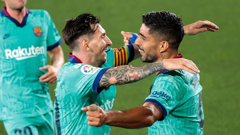 Messi is welcome to join Suarez at Atletico, says club president Cerezo