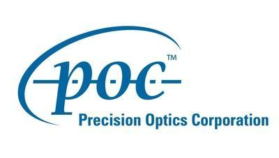 Precision Optics Corporation Logo (PRNewsfoto/Precision Optics Corporation)