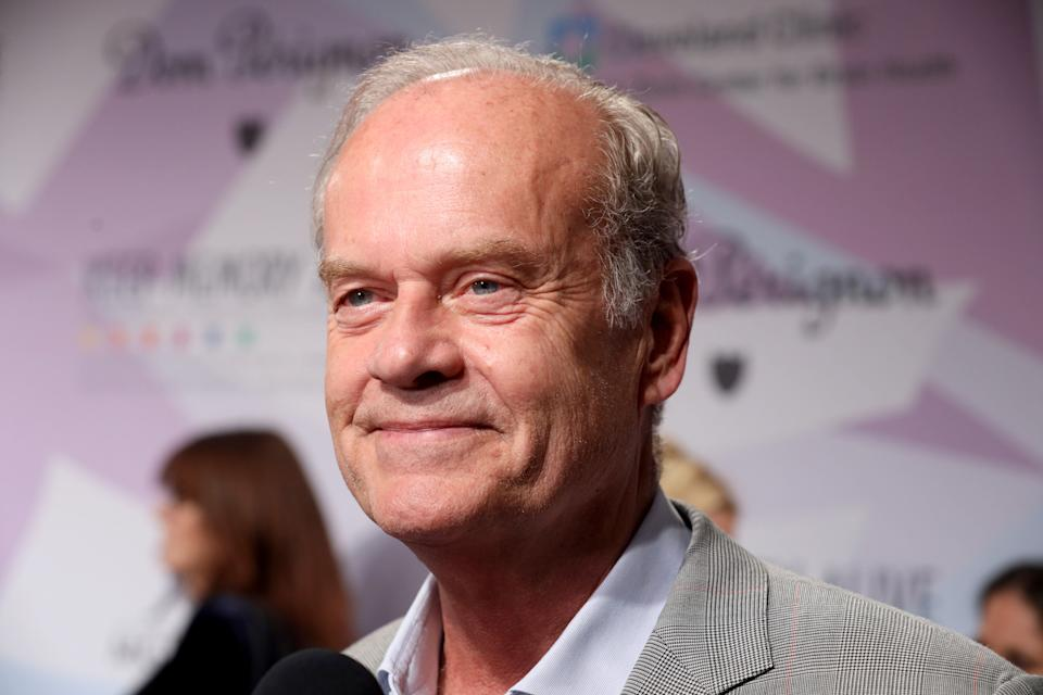 """Actor Kelsey Grammer is interviewed during the 24th annual Keep Memory Alive """"Power of Love Gala"""" benefit for the Cleveland Clinic Lou Ruvo Center for Brain Health on March 7, 2020, in Las Vegas, Nevada. (Photo: Gabe Ginsberg via Getty Images)"""