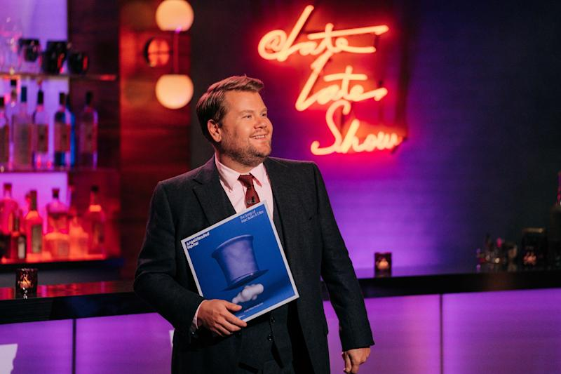 LOS ANGELES - SEPTEMBER 10: The Late Late Show with James Corden airing Thursday, September 10, 2020, with guests Usher and Joan Jett. (Photo by Terence Patrick/CBS via Getty Images)