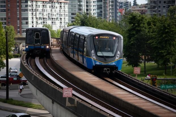 An Expo Line extension to Langley City is forecast to cost $3.94 billion.  (Maggie MacPherson/CBC - image credit)