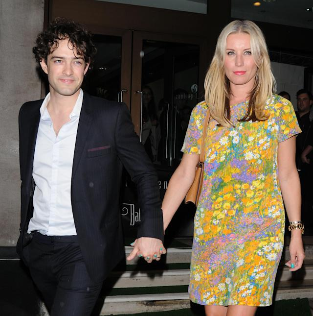 Denise van Outen and husband Lee Mead in 2012. (Getty Images)
