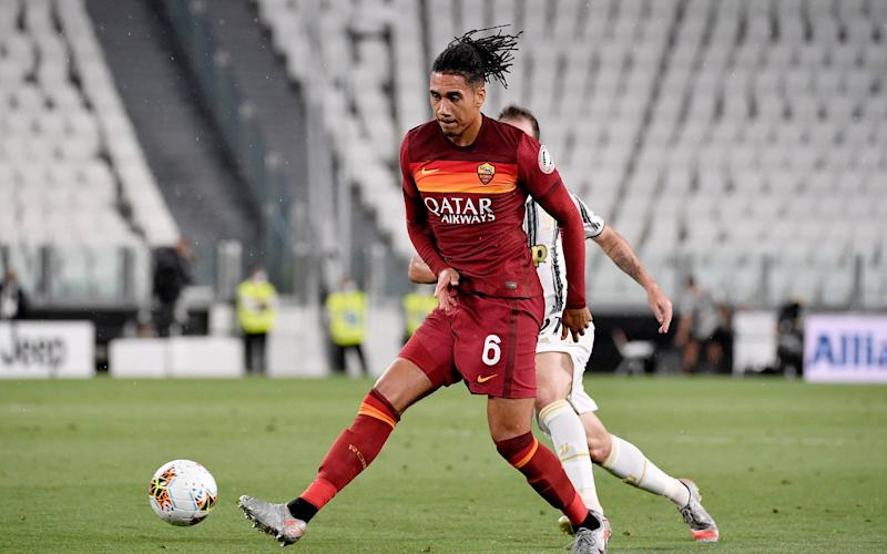 Chris Smalling playing for Roma - GETTY IMAGES