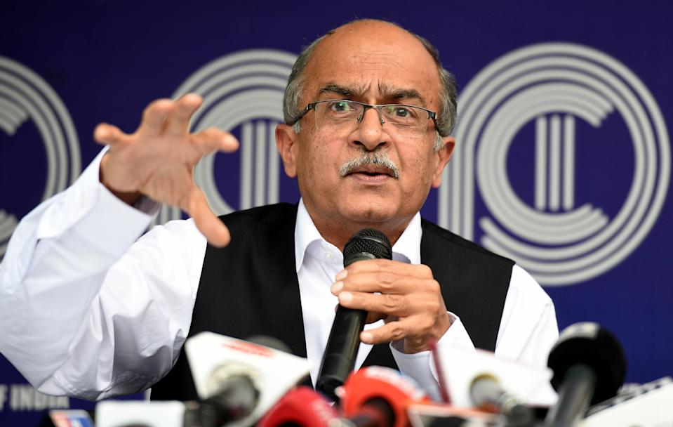 SC initiates contempt proceedings against advocate Prashant Bhushan, Twitter India