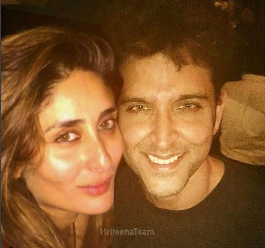Kareena and Hrithik